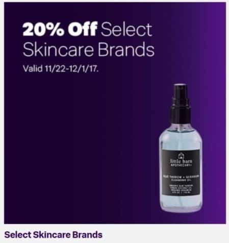 Jet.com Black Friday: Select Skincare Brands - 20% Off