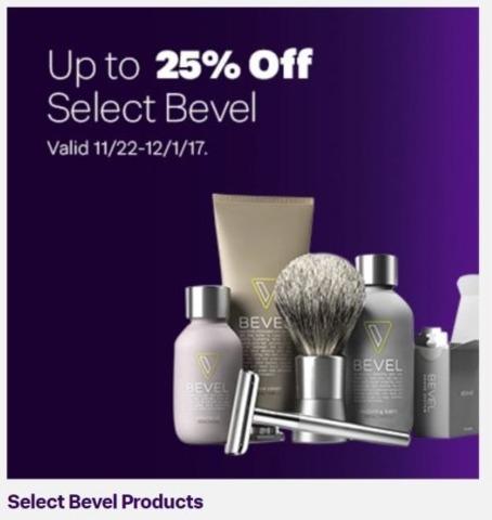 Jet.com Black Friday: Select Bevel Products - 25% Off