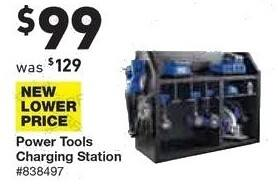 Lowe's Black Friday: Power Tools Charging Station for $99.00