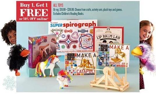 Cost Plus World Market Black Friday: All Toys - B1G1 Free