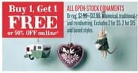 Cost Plus World Market Black Friday: All Open-Stock Ornaments - B1G1 Free