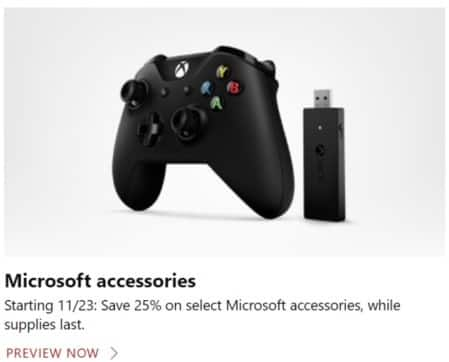 Microsoft Store Black Friday: Select Microsoft Accessories - 25% Off