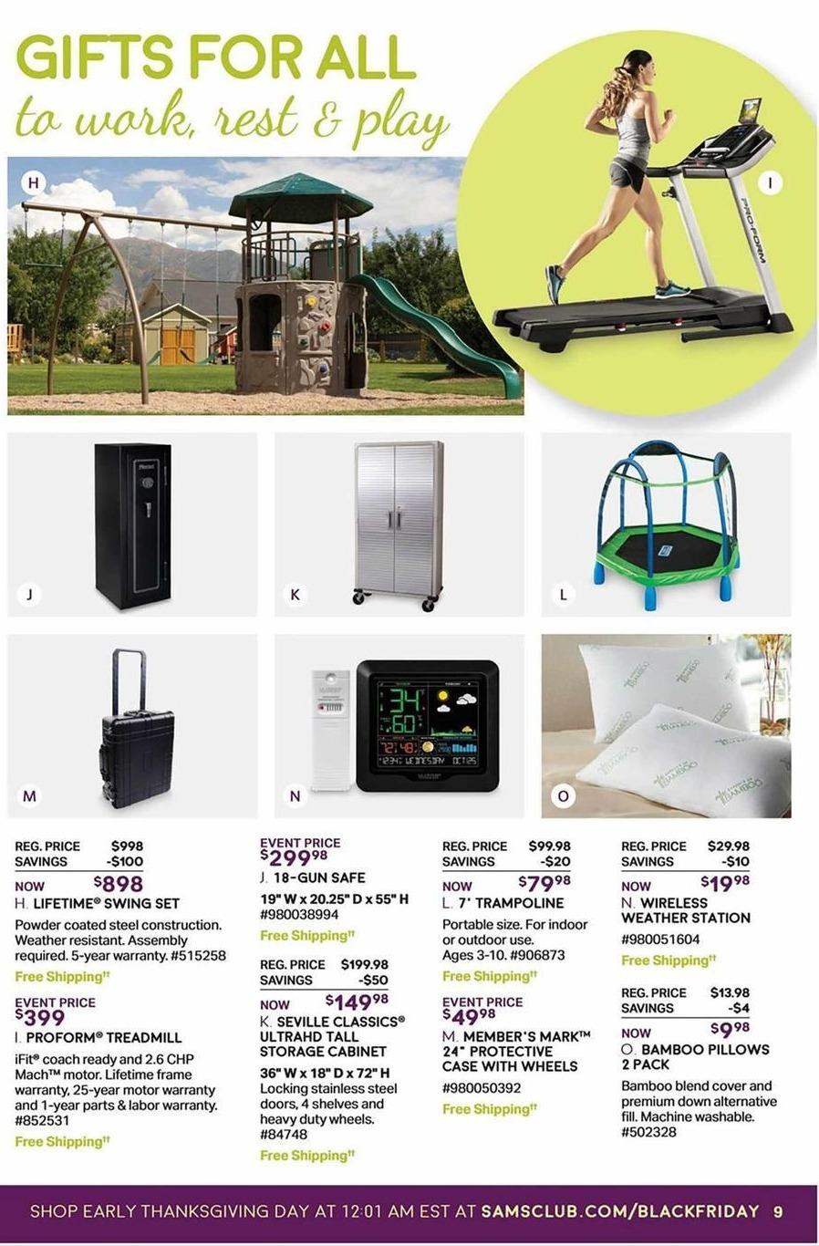 Sam's Club Black Friday: Proform Treadmill for $399.00