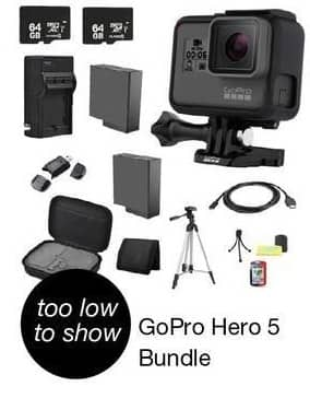 Overstock Black Friday: GoPro Hero 5 Bundle - TBA