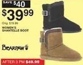 Dunhams Sports Black Friday: Bearpaw Women's Shantelle Boot for $39.99