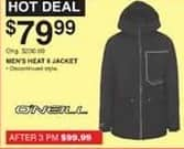 Dunhams Sports Black Friday: O'Neill Men's Heat II Jacket for $79.99