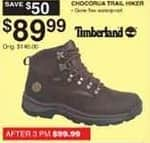 Dunhams Sports Black Friday: Timberland Chocorua Trail Hiker Shoes for $89.99