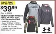 Dunhams Sports Black Friday: Select Under Armour Men's, Women's or Kids' Camo Hoodies for $39.99