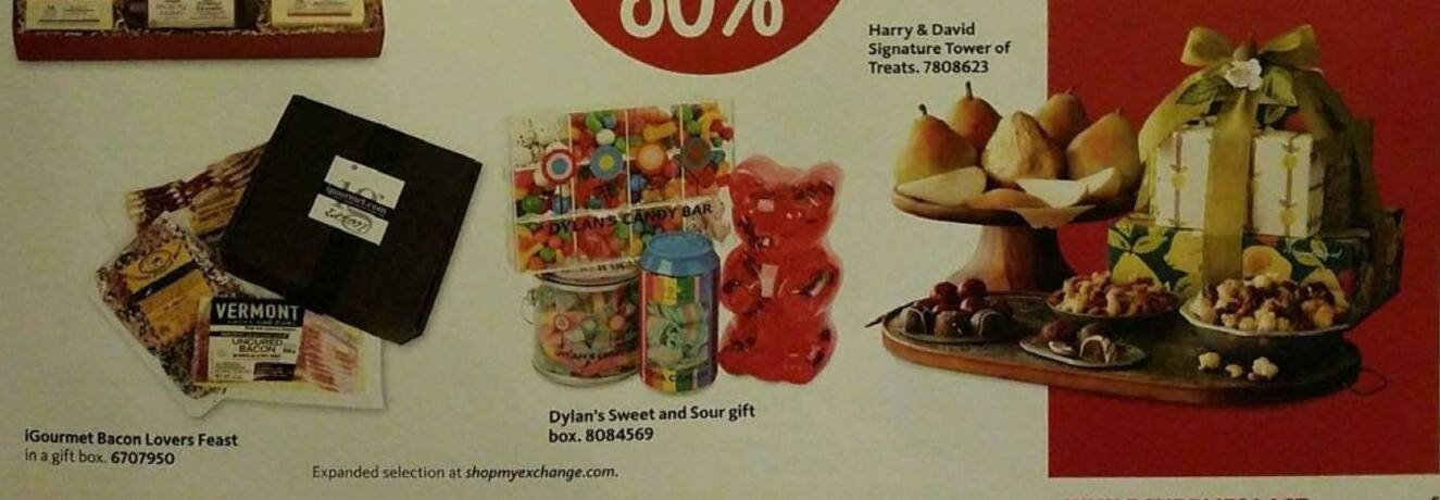 AAFES Black Friday: Harry and David Signature Tower of Treats - Up to 30% Off