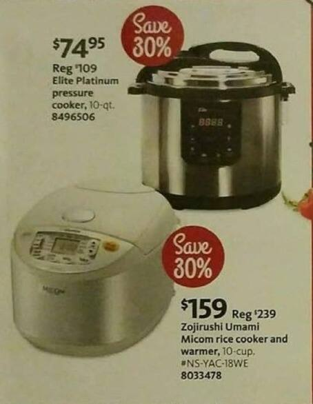 AAFES Black Friday: Elite Platinum Pressure Cooker for $74.95