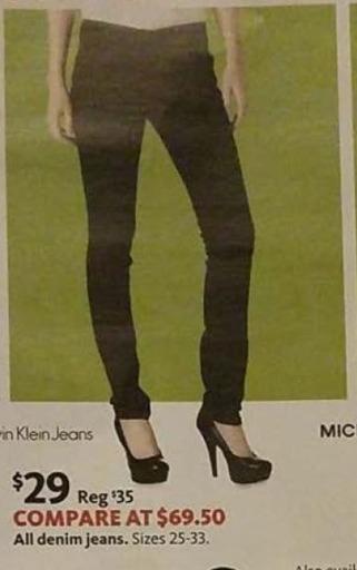 AAFES Black Friday: All Calvin Klein Jeans for $29.00