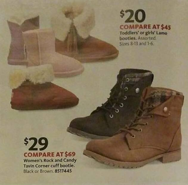 AAFES Black Friday: Assorted Kids' Lamo Booties for $20.00