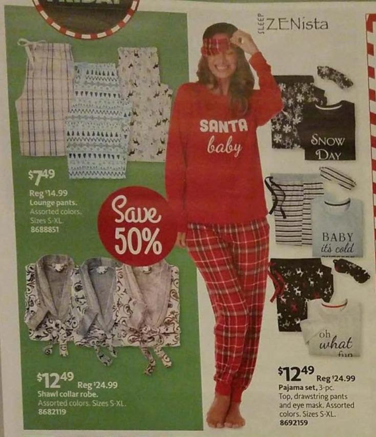 AAFES Black Friday: Sleep Zenista Pajama Set for $12.49