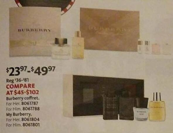 AAFES Black Friday: Burberry Coffret or My Burberry for $23.97 - $49.97