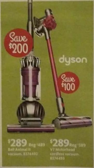 AAFES Black Friday: Dyson V7 Motorhead Cordless Vacuum for $289.00