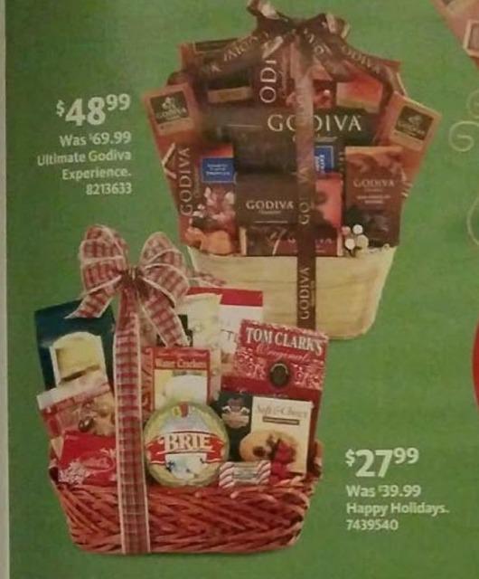 AAFES Black Friday: Happy Holidays Gift Basket for $27.99