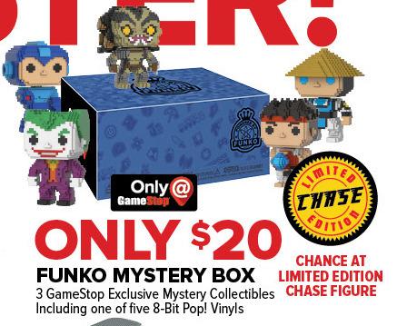 GameStop Black Friday: Funko Mystery Box for $20.00