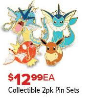 GameStop Black Friday: Pokemon Collectible 2pk Pin Sets for $12.99