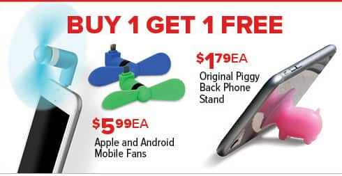 GameStop Black Friday: Apple and Android Mobile Fans, Each - B1G1 Free