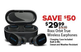 GameStop Black Friday: Roxx Orbit True Wireless Earphones for $29.99