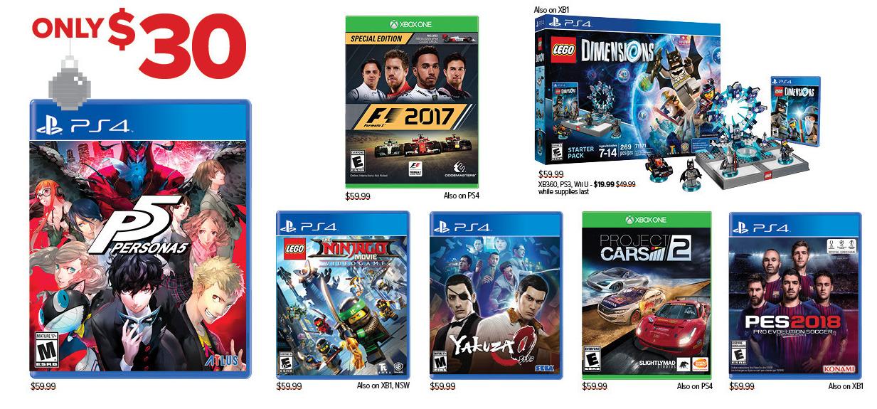 GameStop Black Friday: Persona 5, Yakuza 0 and More, Each for $30.00