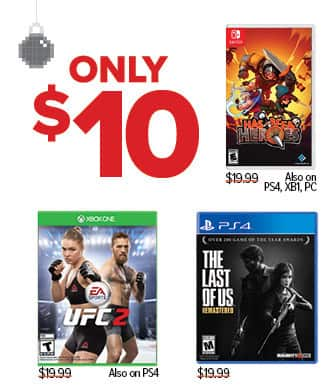 GameStop Black Friday: The Last of Us and Select Games, Each for $10.00
