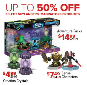 GameStop Black Friday: Skylanders Adventure Pack for $14.99