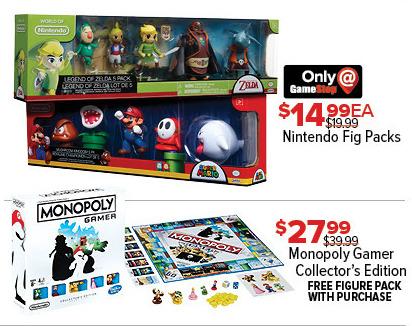 GameStop Black Friday: Nintendo Fig Packs, Each for $14.99