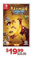 GameStop Black Friday: Rayman Legends for $19.99
