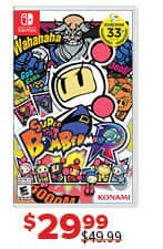 GameStop Black Friday: Super Bomberman R for $29.99
