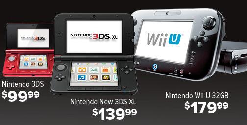 GameStop Black Friday: Nintendo Wii U 32GB (Pre-Owned) for $179.99