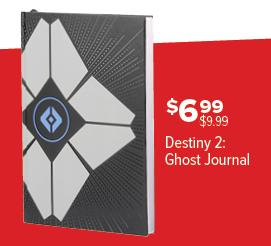 GameStop Black Friday: Destiny 2 Ghost Journal for $6.99