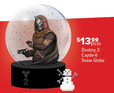 GameStop Black Friday: Destiny 2 Cayde-6 Snow Globe for $13.99