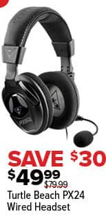 GameStop Black Friday: Turtle Beach PX24 Wired Headset for $49.99