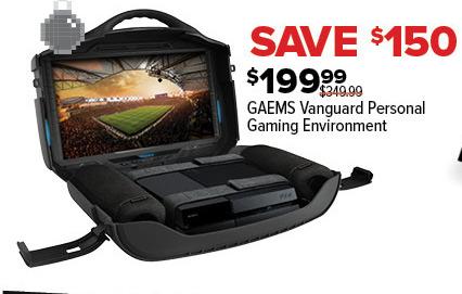GameStop Black Friday: GAEMS Vanguard Personal Gaming Environment for $199.99