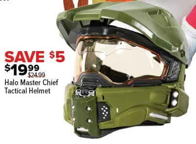 GameStop Black Friday: Halo Master Chief Tactical Helmet for $19.99