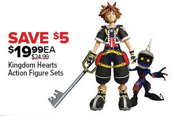 GameStop Black Friday: Kingdom Hearts Action Figure Sets for $19.99