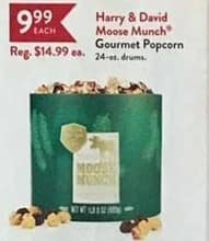 Christmas Tree Shops Black Friday: Harry and David Moose Munch Gourmet Popcorn for $9.99