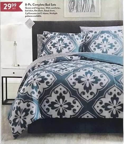 Christmas Tree Shops Black Friday: 8-pc. Complete Bed Sets for $29.99