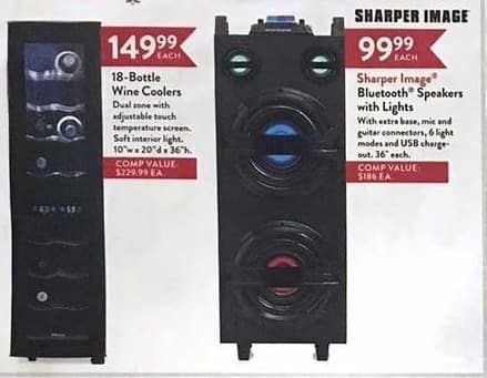 Christmas Tree Shops Black Friday Sharper Image Bluetooth Speakers