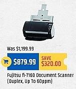 TigerDirect Black Friday: Fujitsu fi-7160 Document Scanner for $879.99