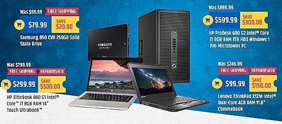 "TigerDirect Black Friday: Refurbished Lenovo 11.6"" ThinkPad X131e Chromebook: Intel Dual-Core, 4GB for $99.99"