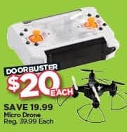 Michaels Black Friday: Micro Drone for $20.00
