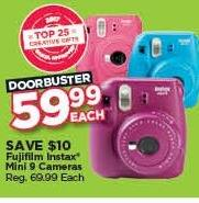 Michaels Black Friday: Fujifilm Instax Mini 9 Camera for $59.99