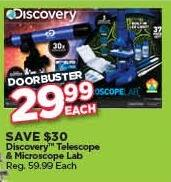Michaels Black Friday: Discovery Telescope & Microscope Lab for $29.99