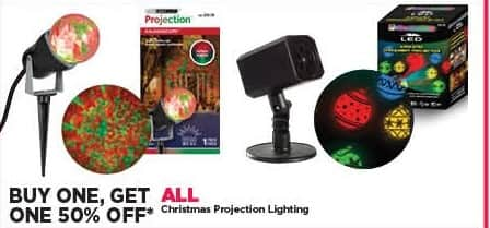 Michaels Black Friday: All Christmas Projection Lighting - B1G1 50% Off