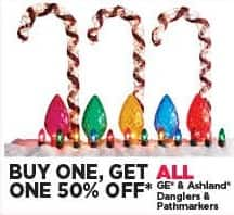 Michaels Black Friday: All GE and Ashland Danglers and Pathmarkers - B1G1 50% Off