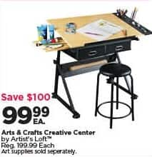 Michaels Black Friday: Artist's Loft Arts and Crafts Creative Center for $99.99