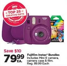 Michaels Black Friday: Fujifilm Instax Bundles for $79.99