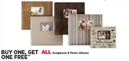 Michaels Black Friday: All Scrapbook and Photo Albums - B1G1 Free